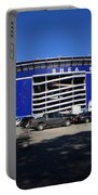 Shea Stadium - New York Mets Portable Battery Charger by Frank Romeo