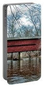 Sheeder - Hall - Covered Bridge Chester County Pa Portable Battery Charger