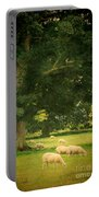 Sheep Grazing Portable Battery Charger