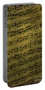 Sheet Music Portable Battery Charger