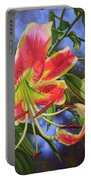 Sheherazade Lilies 1 Portable Battery Charger