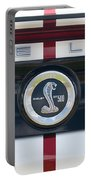 Shelby Cobra Emblem Portable Battery Charger