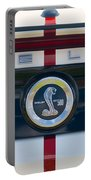 Shelby Cobra Tailgate Emblem Portable Battery Charger