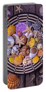 Shell Collecting Portable Battery Charger