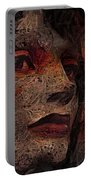 Shell Cyborg Portrait Portable Battery Charger