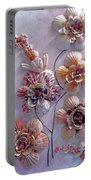 Shell Flowers  No 1  Portable Battery Charger