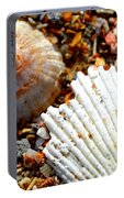 Shells On Sand Portable Battery Charger