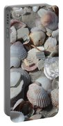 Shells On Treasure Island Portable Battery Charger by Carol Groenen