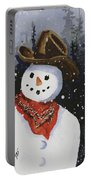 Shelly's Snowman Portable Battery Charger