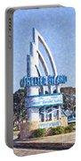 Shelter Island Sign San Diego California Usa Portable Battery Charger