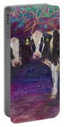Sheltering Cows Portable Battery Charger