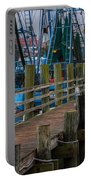 Shem Creek Wharf Portable Battery Charger