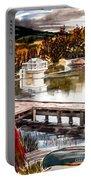 Shepherd Mountain Lake Bright Portable Battery Charger by Kip DeVore