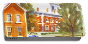 Sheriffs Residence With Courthouse Portable Battery Charger