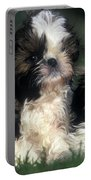 Shih Tzu Puppy Dogs Portable Battery Charger