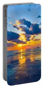 Shimmering Sundown Portable Battery Charger