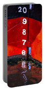 Ship Waterline Numbers Portable Battery Charger