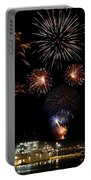 Ships And Fireworks Portable Battery Charger