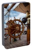 Ship's Wheel Portable Battery Charger