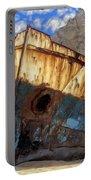 Shipwreck At Smugglers Cove Portable Battery Charger