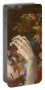 Shivers Portable Battery Charger by Dorina  Costras