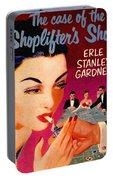 Shoplifter's Shoe. Vintage Pulp Fiction Paperback Portable Battery Charger