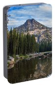 Shoreline View Of Anthony Lake Portable Battery Charger