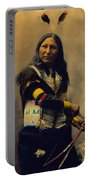 Shout At Oglala Sioux  Portable Battery Charger