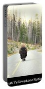 Showdown At Yellowstone Portable Battery Charger