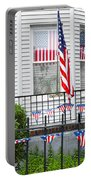 Showing The Flag Usa Portable Battery Charger
