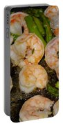Shrimp And Asparagus Portable Battery Charger