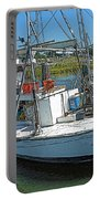 Shrimp Boat - Southern Catch Portable Battery Charger