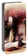 Shrine Of The Nativity Bethlehem April 6th 1839 Portable Battery Charger