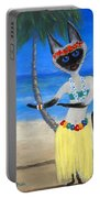 Siamese Queen Of Hawaii Portable Battery Charger