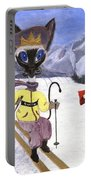 Siamese Queen Of Switzerland Portable Battery Charger