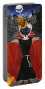 Siamese Queen Of Transylvania Portable Battery Charger by Jamie Frier