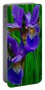 Siberian Iris Portable Battery Charger
