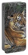 Siberian Tiger Cubs Endangered Species Wildlife Rescue Portable Battery Charger