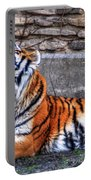 Siberian Tiger Nap Time Portable Battery Charger