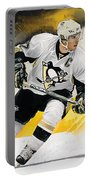 Sidney Crosby Artwork Portable Battery Charger