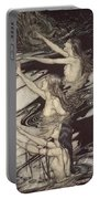 Siegfried Siegfried Our Warning Is True Flee Oh Flee From The Curse Portable Battery Charger