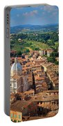 Siena From Above Portable Battery Charger