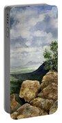 Sierra San Jose From Montezuma Pass Portable Battery Charger
