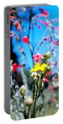 Sierra Wild Flowers II Portable Battery Charger