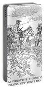 Sieur De La Verendrye (1685-1749) Portable Battery Charger