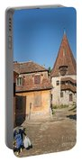 Sighisoara Transylvania Medieval Historic Town In Romania Europe Portable Battery Charger