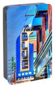 Sign - The Blue Room - Jazz District Portable Battery Charger