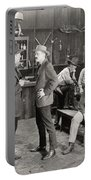 Silent Film Still: Cowboys Portable Battery Charger