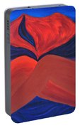 Silent She Emerges Portable Battery Charger by Daina White