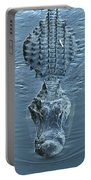 Submerged Alligator Approach Portable Battery Charger